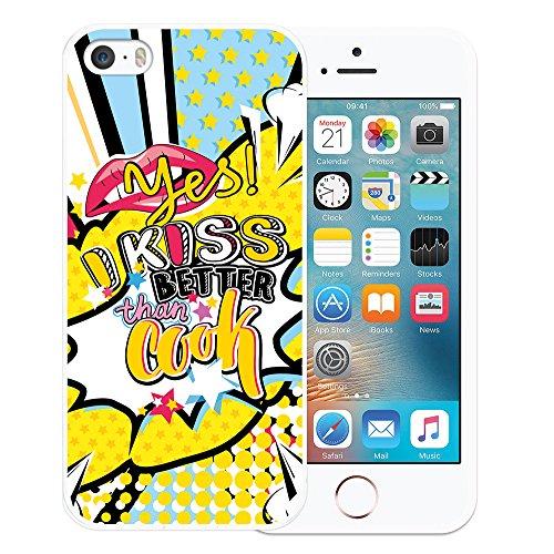 iPhone SE iPhone 5 5S Hülle, WoowCase Handyhülle Silikon für [ iPhone SE iPhone 5 5S ] London Symbole Handytasche Handy Cover Case Schutzhülle Flexible TPU - Transparent Housse Gel iPhone SE iPhone 5 5S Transparent D0479