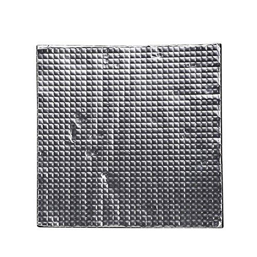 MAyouth Drucker 3D-Teile, 3D-Drucker Beheizbare Bett Isolierung Leichte Schaumfolie Selbstklebe-Isoliermatte Aufkleber Hotbed Thermal Pad für Heatbed Aluminium Pad PCB