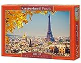 Castorland C-103089-2 - Autumn In Paris, 1000-teilig, Klassische Puzzle