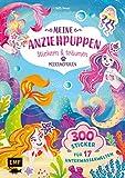 Meine Anziehpuppen – stickern & träumen: Meerjungfrauen: 300 Sticker für 17 Unterwasserwelten