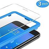 TAMOWA [3-pack skärmskydd för iPhone 8 Plus/iPhone 7 Plus/6S Plus/6 Plus, 2,5 D premium härdat glas 9H skottsäker film med in