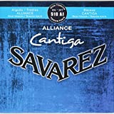 Savarez Saiten für Klassikgitarre Alliance Cantiga Satz 510AJ High Tension blau