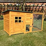 FeelGoodUK Chicken Coop, 160 x 75 x 80 cm