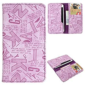 DooDa PU Leather Case Cover With Card Slots For Maxx GenxDroid7 AX405