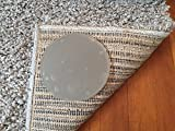 Sticky Discs Non-Slip Rug Pads For RUG-ON-FLOOR Anti-Slip. Reusable Rug Stickers. No Residue. 12 Pack Intended To Limit Multiple Rugs or Large Rugs/Exercise/Door Mats From Moving On FLOORS. BRAND NEW!