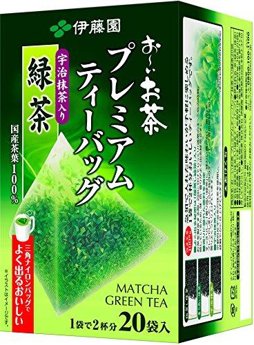 Itoen Premium Tee Bag Green Tea 1.8g - 20 peace - Green Tea - (Pack Type) (Itoen Grüner Tee)