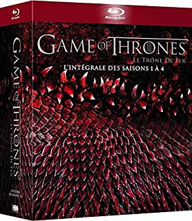 Game of Thrones (Le Trône de Fer) - L'intégrale des saisons 1 à 4 - Blu-ray - HBO (B00OH9K29E)   Amazon price tracker / tracking, Amazon price history charts, Amazon price watches, Amazon price drop alerts