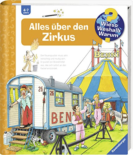 Alles über den Zirkus (Wieso? Weshalb? Warum?, Band 44)