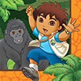 Go Diego Go! Biggest Rescue Small Napkins (16ct) by Amscan