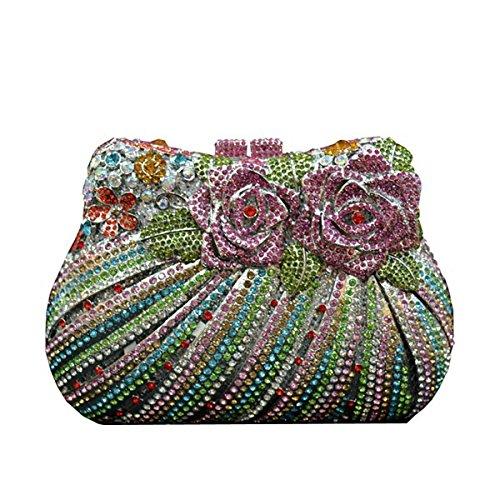 Frauen-Diamant-Abendtasche Luxus-Mode-Handtasche Colordiamond