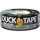 Duck Brand Max Strength Duct tape: 1.88 in. x 45 yds. (Zilver)