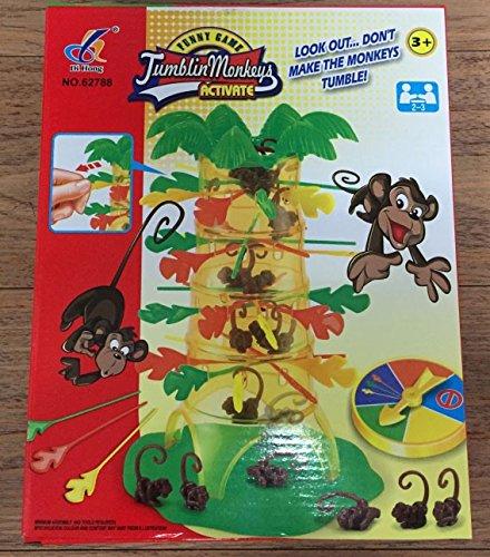 Juego de Tumbling Monkeys Monos caídos árbol mono juego de habilidad