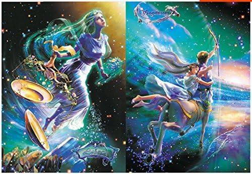 1000 pièces Classique Belle Constellations 12 Constellations Belle  s Adultes Puzzles - Gémeaux 22e4d3