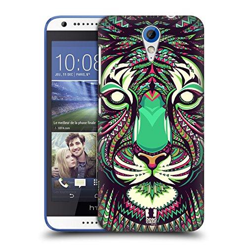 Head Case Designs Tiger Aztekische Tiergesichter 2 Ruckseite Hülle für HTC Desire 620/620 Dual SIM