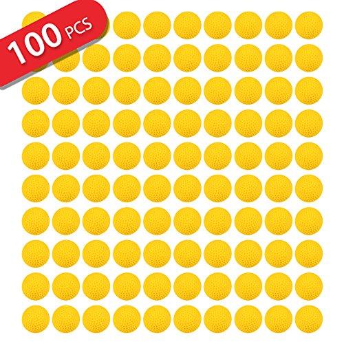 jouernow-100pcs-giallo-rotondo-refill-proiettile-pallas-23cm-compatible-for-nerf-rival-apollo-zeus-g