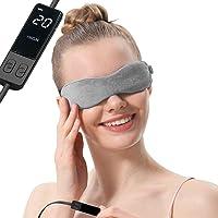AROMA SEASON® | Elektrisch beheizbare Wärmebrille | Wärmende Augenmaske | Gegen Blepharitis, Gerstenkorn, Augenringe…