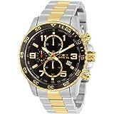 ساعة انفيكتا للرجال 14876 سبيشاليتي كرونوغراف 18 قيراط ذهب مطلي وستانلس ستيل