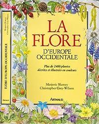 la Flore d'Europe Occidentale fleurs sauvage