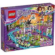 LEGO Friends 41130 - Set Costruzioni La Montagne Russe Del Parco Divertimenti - Torre Panoramica