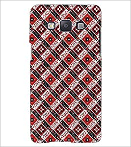 PrintDhaba Pattern D-5474 Back Case Cover for SAMSUNG GALAXY E5 (Multi-Coloured)