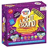 Genius Box - Play some Learning Children's Plastic Light and Sound Educational Steam Toys, Large (Blue)