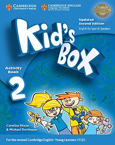 Kid's Box Level 2 Activity Book with CDROM Updated English for Spanish Speakers Second Edition
