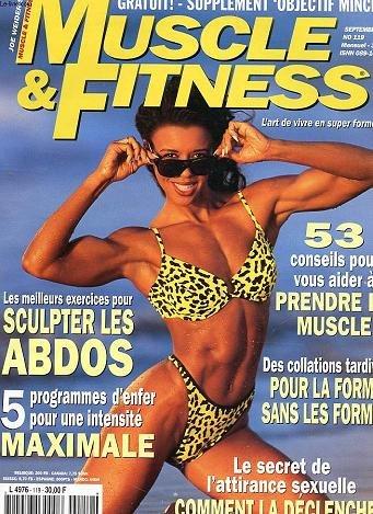 REVUE MENSUELLE 6 MUSCLE ET FITNESS - L'ART DE VIVRE EN FORME - SCULPTER LES ABDOS - 53 CONSEILS POUR PRENDRE DU MUSCLE - ATTIRANCE SEXUELLE - SEPTEMBRE 1997