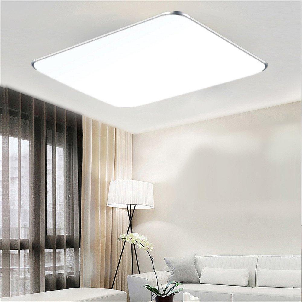 Mctech 48w Led Deckenleuchte Ultraslim Modern Deckenlampe Flur Wohnzimmer Lampe Schlafzimmer Kuche Energie Sparen Licht Wandleuchte Farbe