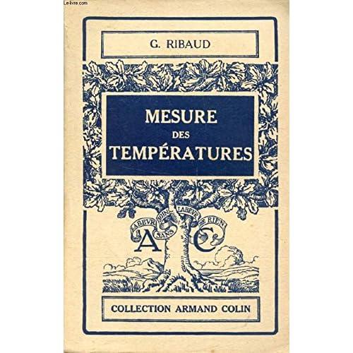 MESURE DES TEMPERATURES