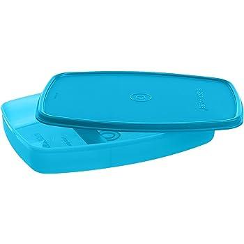 Signoraware Slim Plastic Lunch Box, T Blue