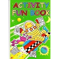 1x GREEN CHILDRENS LEARNING ACTIVITY & PUZZLE FUN COLOURING & TRACING PAPER A4 BOOKS