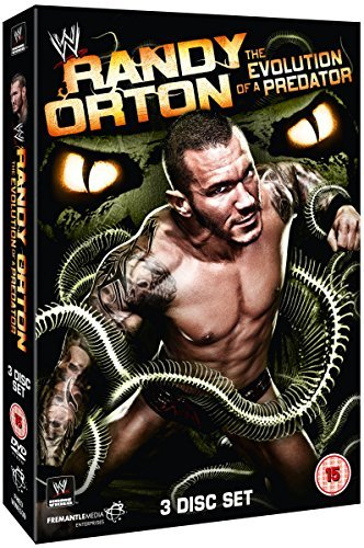 randy orton - the evolution of a predator (3 dvd) box set dvd Italian Import by randy orton