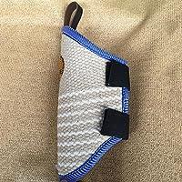 Myyxt Manchons de morsure de crabot d'entraînement de battement Coton Dark lin Manchon de protection Produits pour animaux de compagnie