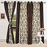 #6: Vivek Homesaaz Polyester Classic All Over Curtains