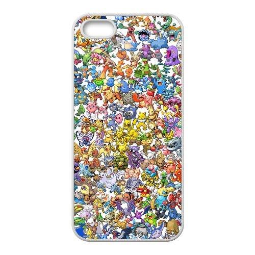 """Pokemon Pikachu Design Étui pour l'iPhone 5/5S, coque pour iPhone 5S Coque """", Sac TPU Phone Case Housse de Protection Cas Étui Case pour iPhone 55S"""