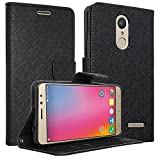"Classico Luxury Premium Mercury Wallet Card Dairy Slot Style Flip Cover Compatible For Lenovo Volte A6600/A6600 Plus (5"" Screen)"