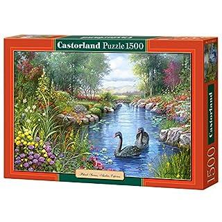 Castorland C-151042-2 - Black Swans, Andres Orpinas, 1500 T, Klassische Puzzle