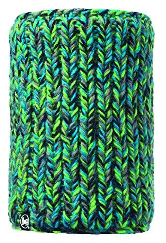 Buff Knitted und Polar Neckwarmer Skyler Schlauchschal, Green, One (Skyler)