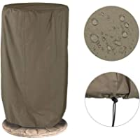 CSPone Outdoor Statues Cover, Garden Fountain Cover, Outdoor Garden Patio Heater Cover, Waterproof Breathable Oxford Fabric, Dustproof (80 * 80 * 105cm)