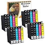 D&C 20er Set(B/C/M/Y) Kompatible mit Epson 29 XL Druckerpatronen, Ersetzt für Epson Expression Home XP-235, XP-245, XP-247, XP-332, XP-335, XP-342, XP-345, XP-432, XP-435, XP-442, XP-445 mit Chip