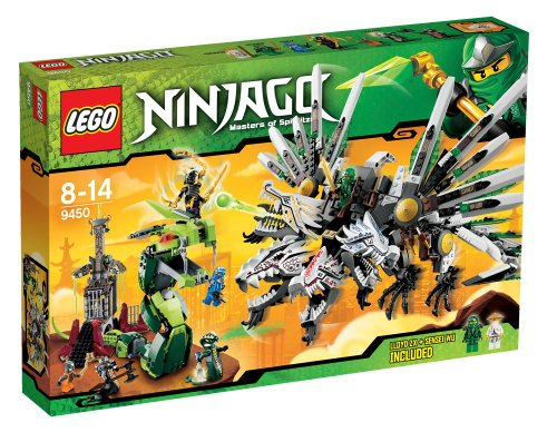LEGO Ninjago Playthème - 9450 - Jeu de Construction - Le Combat des Dragons