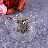 BESTOMZ Niedliches Tier Faultier Tee-Ei aus Silikon für losen Tee Tee Infuser für BESTOMZ Niedliches Tier Faultier Tee-Ei aus Silikon für losen Tee Tee Infuser