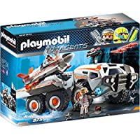 "Playmobil 9255"" Top Agents SpyTeam Battle Truck with Spy Jet Launch Pad Toy Set, Multi"