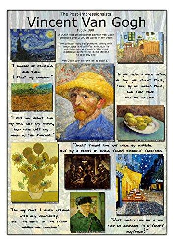 Vincent Van Gogh Post Impressionisten Poster a1 -