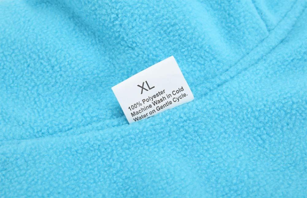 Morezi Pet Cloth Soft Polyester Fleece Dog Vest Elastic Chest Girth Coat Waistcoat Winter Warm Clothes Reversible Dog Coat for Small Medium Large Dogs 7
