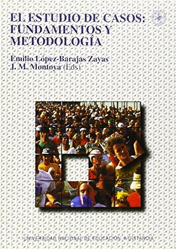 El estudio de casos : fundamentos y metodología (VARIA) de Emilio LÓPEZ-BARAJAS ZAYAS (3 ago 1995) Tapa blanda