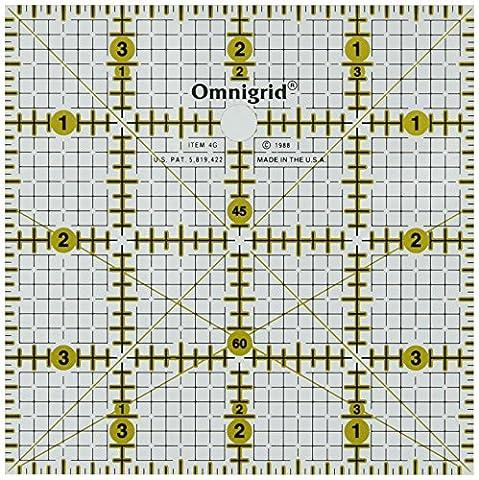 Prym Règle universelle 4x 4avec grille pour