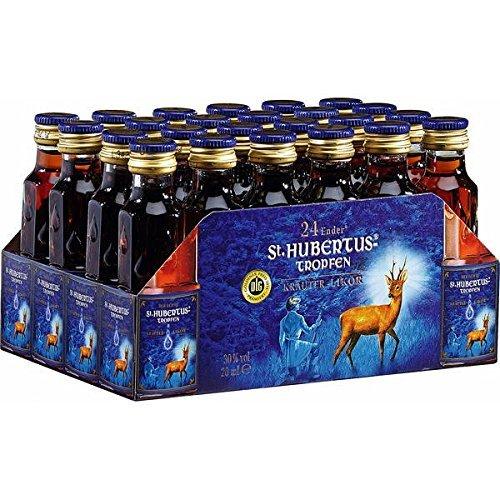 St.Hubertus-Tropfen ( 24 x 20 ml Flaschen ) (Kräuterlikör)