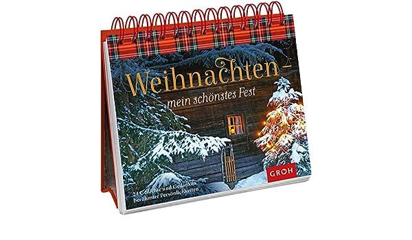 Weihnachten - mein schönstes Fest: 24 Gedichte und Gedanken ...
