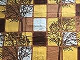 Carpe Sonno Biber Winter-Bettwäsche Set in bunten Mustern und Farben aus 100% Baumwolle Gute und günstige Flanell Qualität der Bett-Bezüge. Vorjahres-Muster zum Schnäppchen-Preis. 155x220 Braun